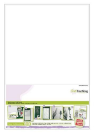 CraftEmotions EasyConnect (dubbelzijdig klevend) Craft sheets A4 - 5 vellen