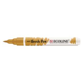Talens Ecoline Brush Pen - 407 donkere oker