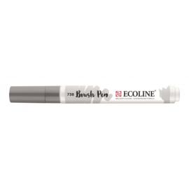 Talens Ecoline Brush Pen - 738 koudgrijs licht