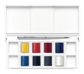 Winsor & Newton Cotman Aquarelverf - pocket set van 8 + penseel - Skyscape