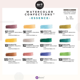 Prima Marketing Confections Aquarelverf Essence - set van 12 kleuren