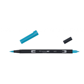 Tombow ABT Dual Brush Pen 443 turquoise