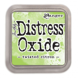 Tim Holtz Distress Oxide Inkt Pads groot - Twisted citron