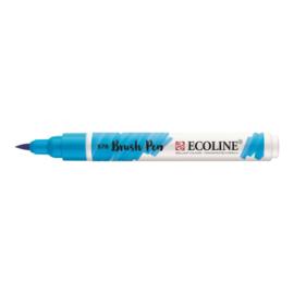 Talens Ecoline Brush Pen - 578 hemelsblauw cyaan