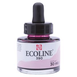Talens Ecoline Vloeibare waterverf 30 ml - 390 pastelrose