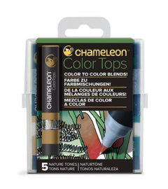 Chameleon Alcohol based Color Tops - Nature Tones - set van 5