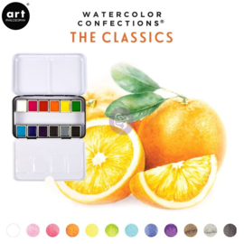Prima Marketing Confections Aquarelverf The classics - set van 12 kleuren
