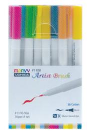 Marvy Uchida Artist Brush Pen - set van 36 (set A)