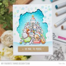 My Favorite Things clear stamps - set van 4 - Piles of Joy