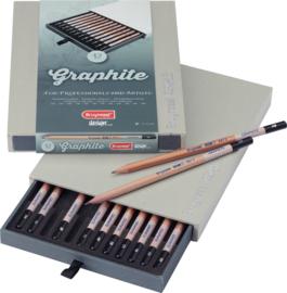 Bruynzeel Grafiet potloden - set van 12