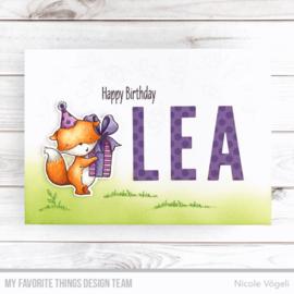 My Favorite Things clear stamps - set van 14 - SY Sending Sweet Celebration Wishes