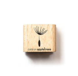 Cats on Appletrees - Houten stempel - 15x15mm - Dandelion