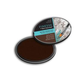 Spectrum Noir Inktkussen - Finesse Water proof - Rustic Brown