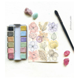 Prima Marketing Confections Aquarelverf Vintage Pastel  - set van 12 kleuren