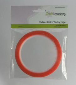 CraftEmotions Extra sticky tape 3 mm -  10 meter