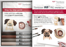 Tombow ABT PRO Alcohol based markers - Starter Set