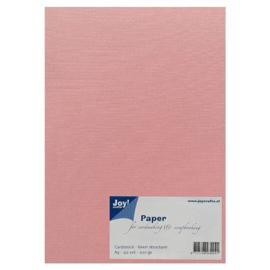 Joy Crafts Kraft papier A5 - 20 stuks - 200 gram - Roze