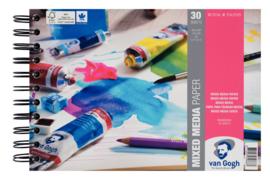 Van Gogh Mixed Media papierblok - 30 vellen - 300 grams - A5
