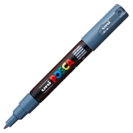 Uni Posca Paint Marker PC-1MC conische punt  - Lijsteengrijs