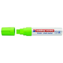 Edding 4090 Raam/krijtstift XXL - Beitelvormige punt 4-15 mm - Lichtgroen