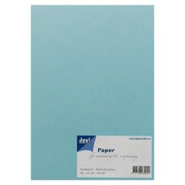 Joy Crafts Kraft papier A5 - 20 stuks - 200 gram - Licht blauw