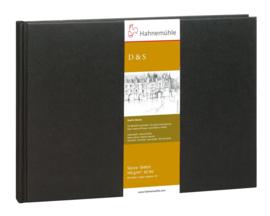 Hahnemühle D&S schetsboek A6 - 124 pagina's - Zwarte kaft