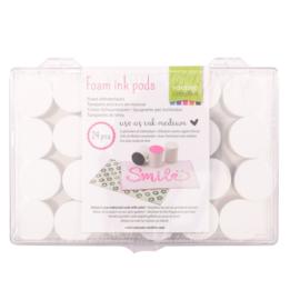 Vaessen Creative  Foam inktstempels - set van 24