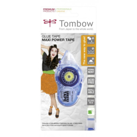 Tombow PN-IP Maxi Power Glue Tape - Refillable - Permanent lijmroller
