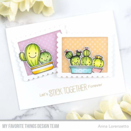 My Favorite Things clear stamps - set van 18 - BB Let's Stick Together