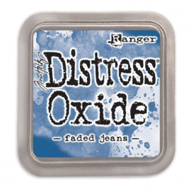 Tim Holtz Distress Oxide Inkt Pads groot - Faded jeans