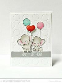 My Favorite Things clear stamps - set van 21 - BB Adorable Elephants