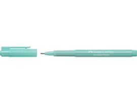 Fineliner Faber-Castell Broadpen Pastel 0.8mm - turquoise