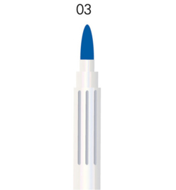 Krimpie permanent marker donkerblauw