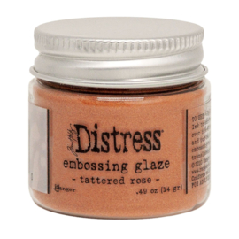 Tim Holtz Distress Embossing glaze - Tattered rose