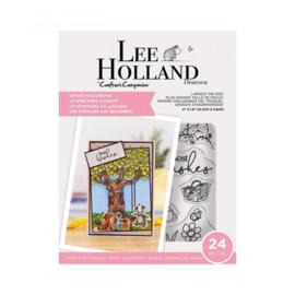 Crafter's Companion Lee Holland Clearstamp & Die - Spring has Sprung - set van 24