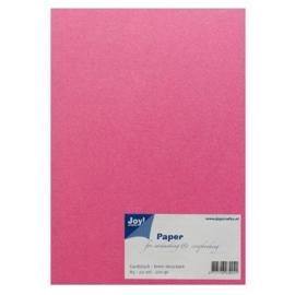 Joy Crafts Kraft papier A5 - 20 stuks - 200 gram - Fuchsia