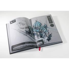 Hahnemühle The Grey Book A5 - 80 pagina's - Grijze kaft