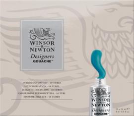 Winsor & Newton Gouache Introductory set - 14 ml - set van 10