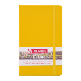 Talens art creation Brush / Schetsboek 13 x 21 cm - 80 vellen - Golden Yellow