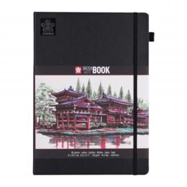 Sakura Brush / Schetsboek 21 x 30 cm  - 80 vellen - Wit papier