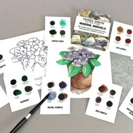 Daniel Smith Extra Fine Dotcard Watercolor Mineral Marvels Aquarelset - set van 36 kleuren