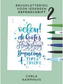 Brushlettering voor iedereen OEFENSCHRIFT 2 - Carla Kamphuis