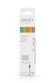 Uni Emott Fineliners - set van 5 - Natural