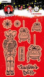 Studio Light Clear Stamp A5 - Christmas Essentials nr.81