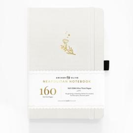 Archer & Olive bullet journals mix wit, zwart en kraft papier