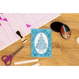 Crafter's Companion clearstamp - Under The Tree