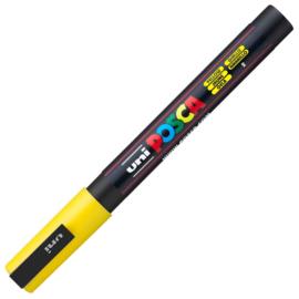 Uni Posca Paint Marker PC-3M  - Geel