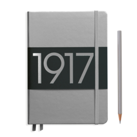 LEUCHTTURM 1917 bulletjournal / Notitieboek A5 - Dotted - Metallic Silver