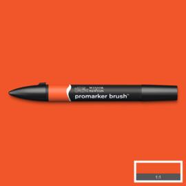 Winsor & Newton promarkers Brush - Bright Orange
