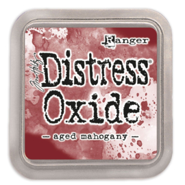 Tim Holtz Distress Oxide Inkt Pads groot - Aged Mahogany